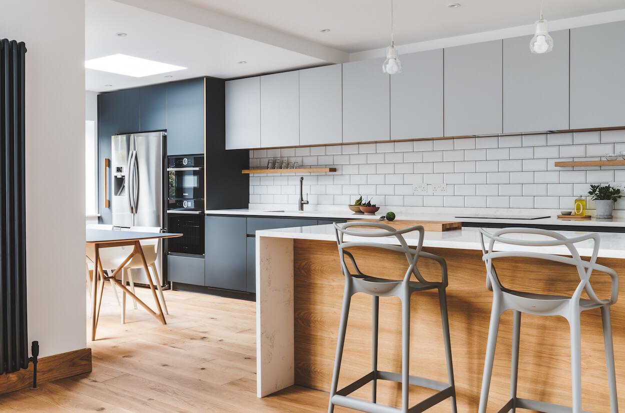 Kingsdown Park Rochlin bespoke kitchen